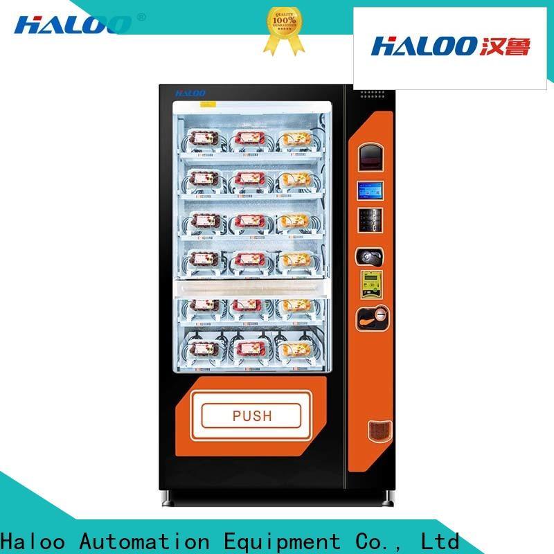 Haloo sandwich vending machine design for drinks