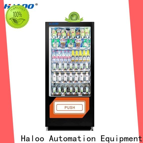 Haloo high quality healthy vending machine snacks wholesale for adult toys