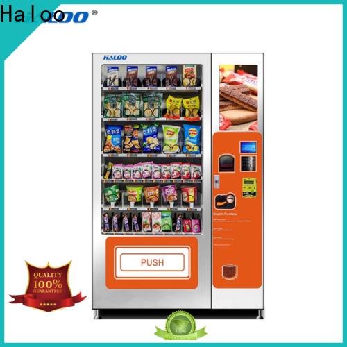 Haloo high-quality tea vending machine design for food