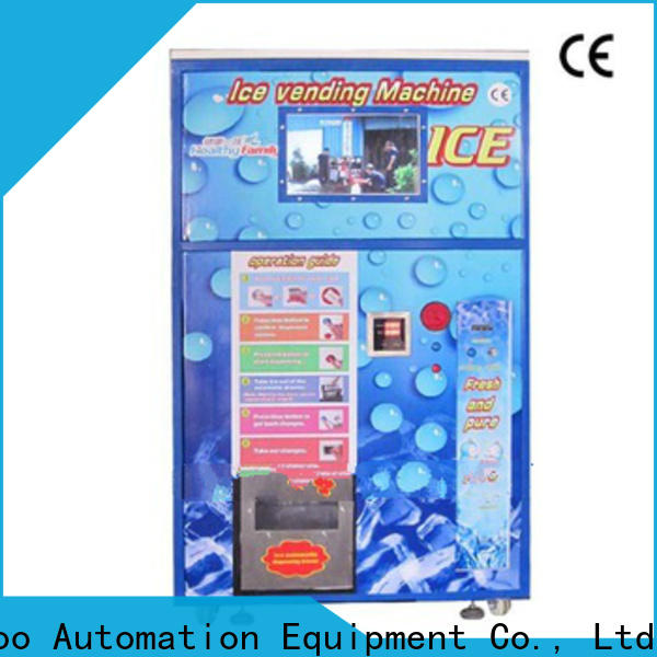 Haloo high quality ice vending machine for sale supplier