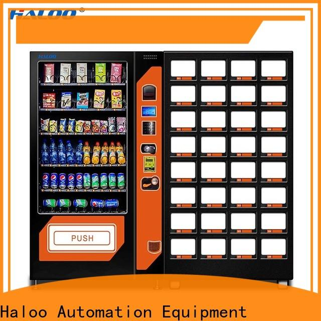 Haloo high-quality coffee vending machine design for snack