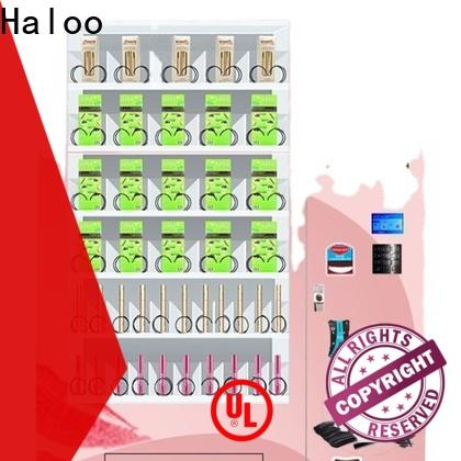 Haloo high capacity snack and drink vending machines for sale design