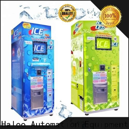new ice cream vending machine factory