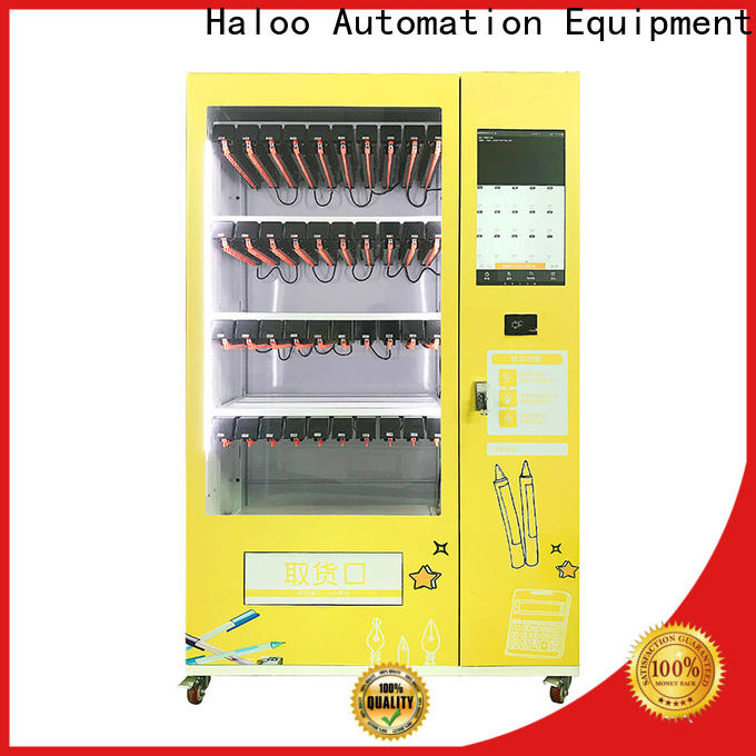touch screen cigarette vending machine design for garbage cycling