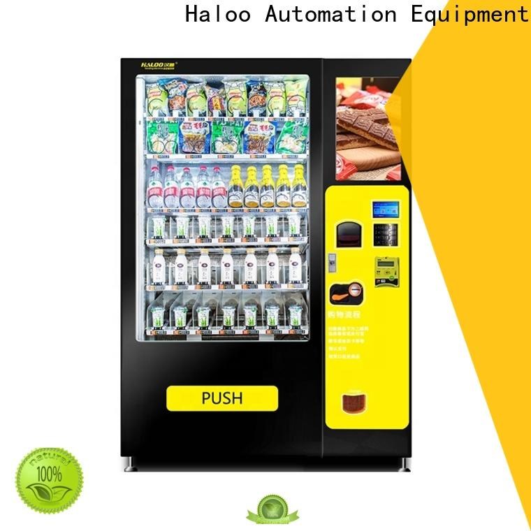 professional snack and drink vending machine design
