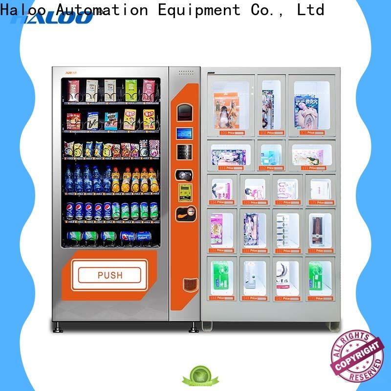 Haloo condom vending machine wholesale for adults
