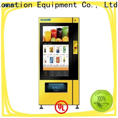 Haloo smart healthy vending machines series for merchandise
