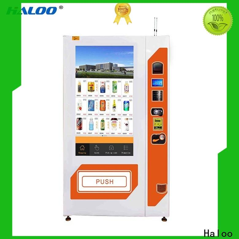 Haloo intelligent drink vending machine factory for shopping mall