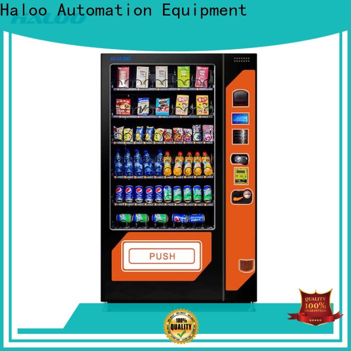 Haloo best soda snack vending manufacturer for food