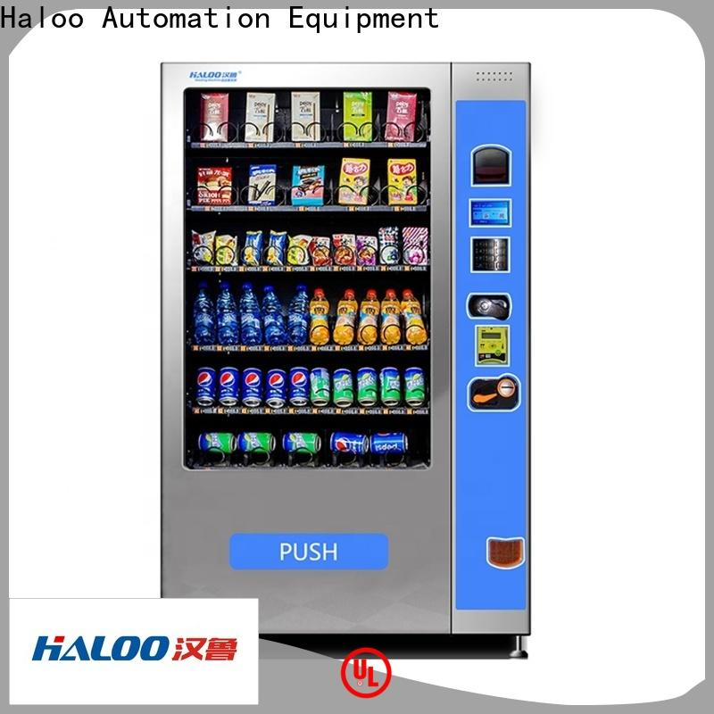 Haloo professional snack and drink vending machines for sale series