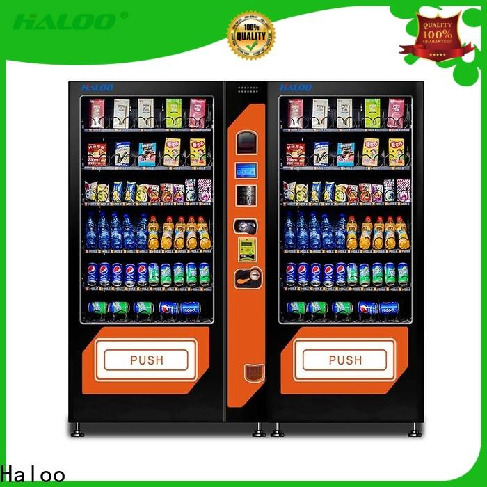 Haloo wholesale combo vending machines with good price for food