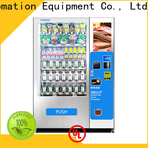 Haloo snack and drink vending machine supplier