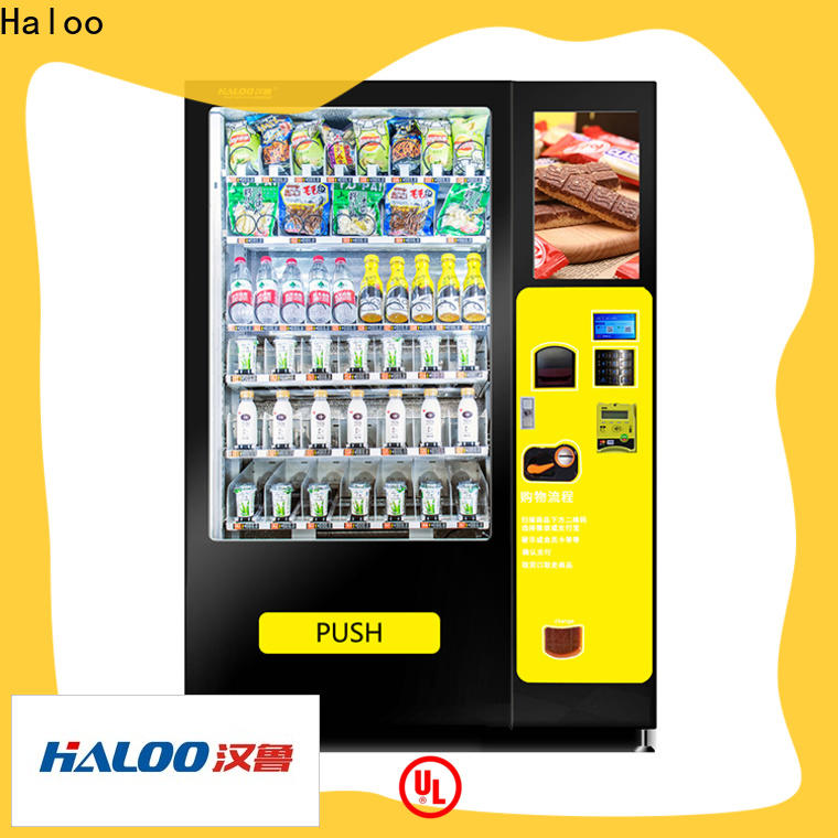 convenient snack and drink vending machine design