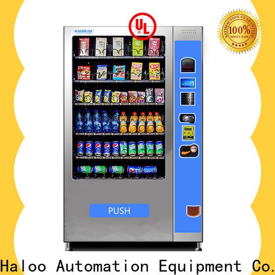 Haloo professional soda and snack vending machine design