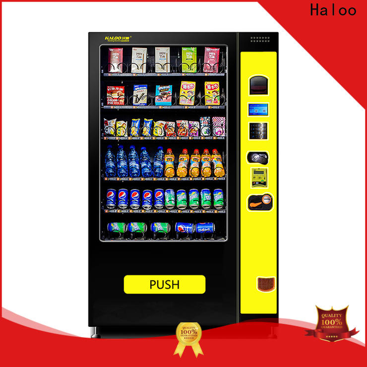 Haloo snack and drink vending machines for sale series