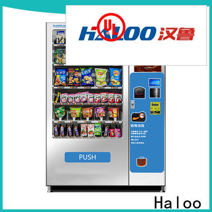 convenient soda and snack vending machine design