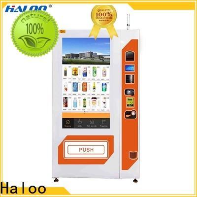 Haloo soda vending machine design for merchandise