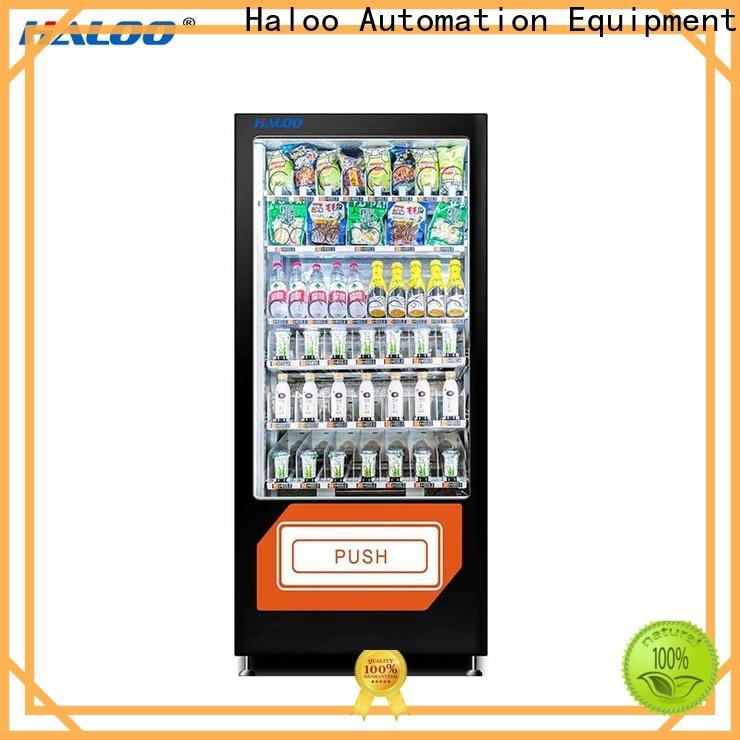 Haloo automatic candy vending machine design for snack
