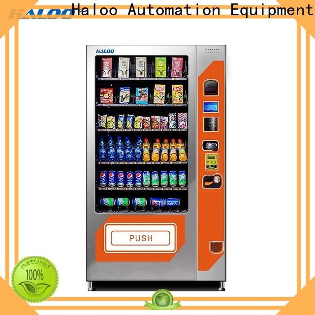 Haloo best cold drink vending machine with good price for drink