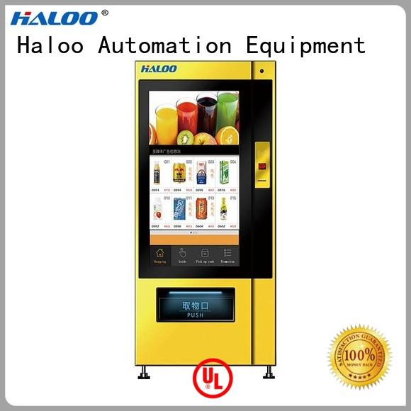 Haloo medicine vending machine factory for shopping mall