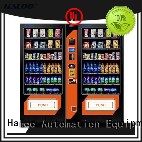 Haloo high capacity beverage vending machine customized for drink