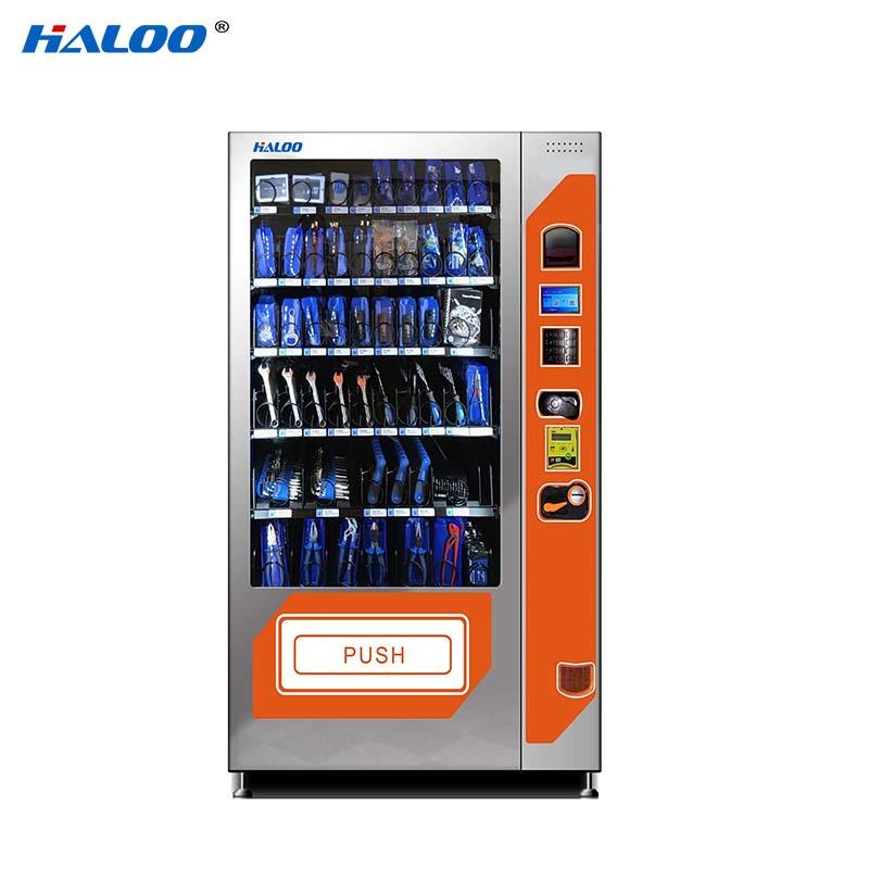 Haloo ads screen snack dispenser machine for snack-1