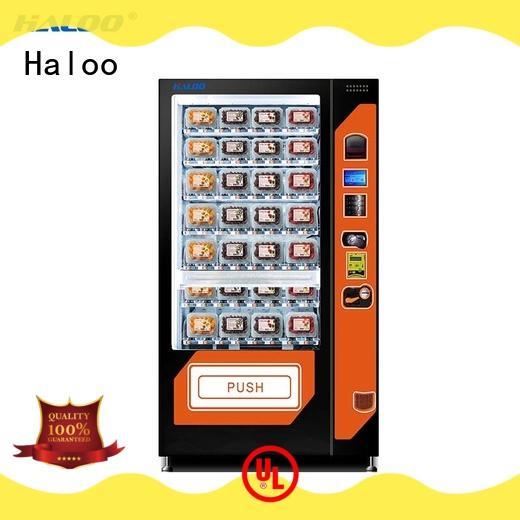 customized language canteen vending manufacturer Haloo