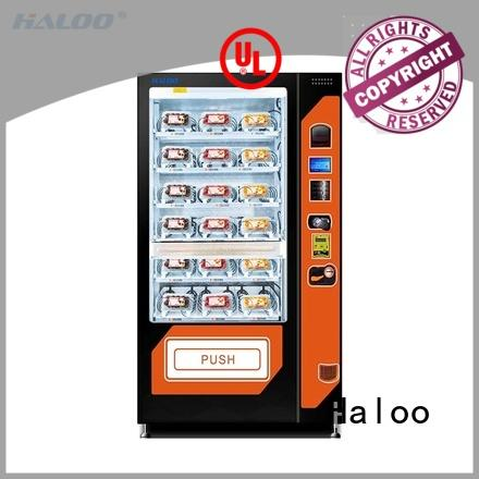 Haloo snack machine wholesale for fragile goods