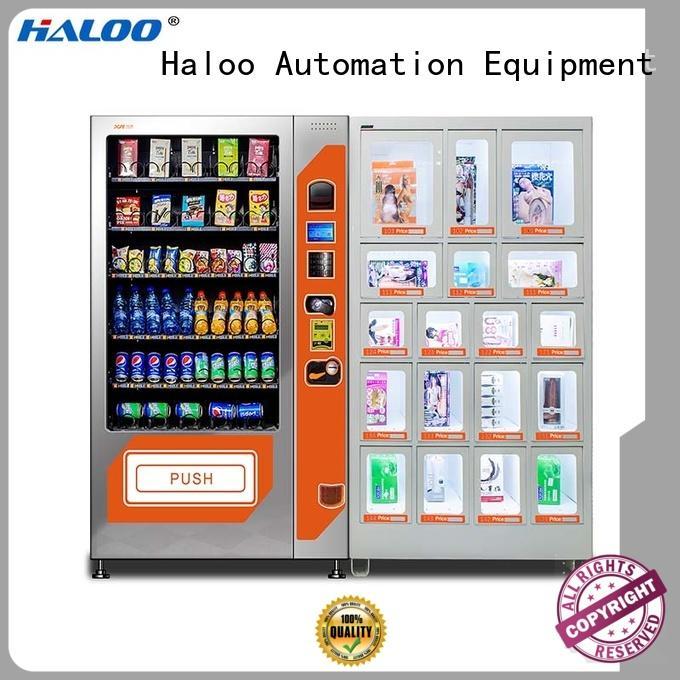 24-hour condom dispenser machine customized for pleasure Haloo