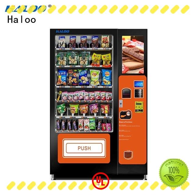 Haloo vending machine price manufacturer