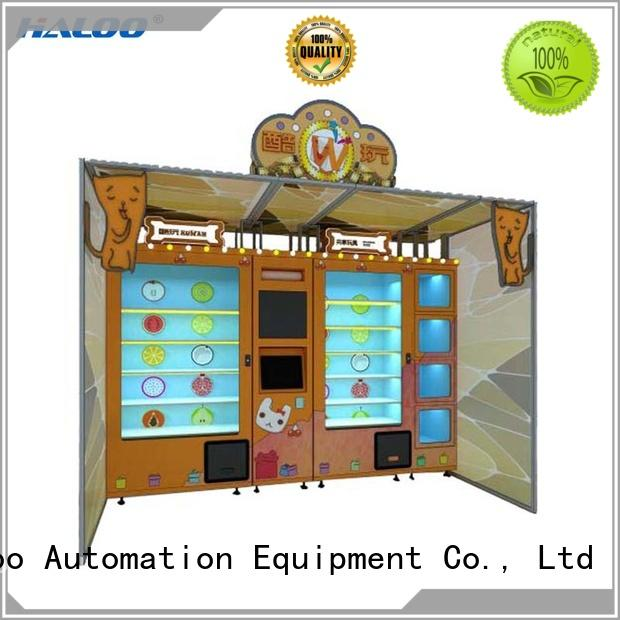 Haloo vending kiosk factory direct supply for garbage cycling