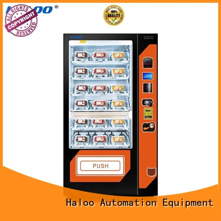 Haloo canteen vending design for red wine