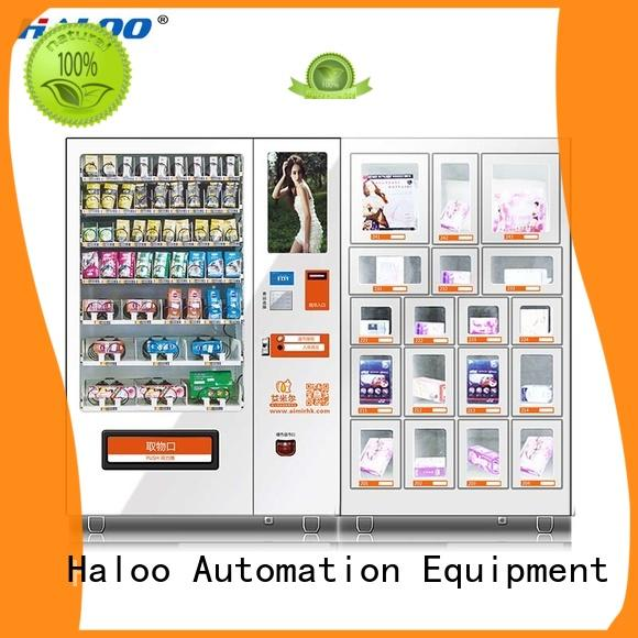 Haloo automatic condom vending machine directly sale for adults