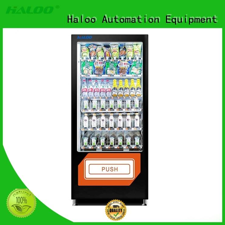 Haloo convenient healthy vending machine snacks 32 windows for adult toys