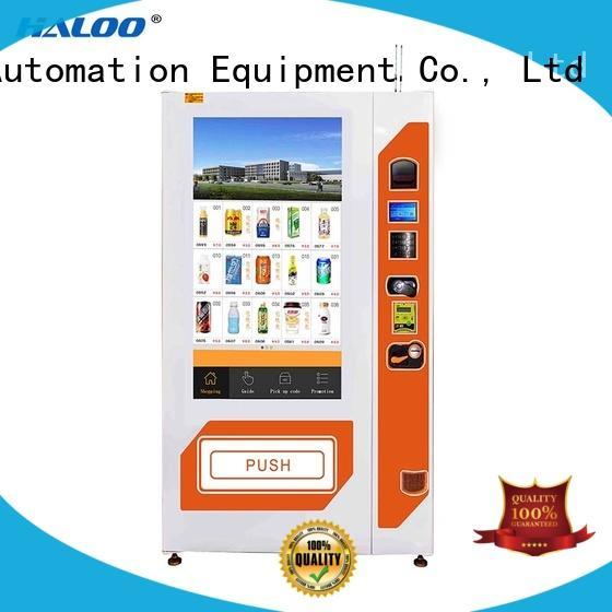 Haloo vending machine price factory for merchandise