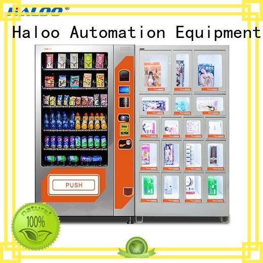 Haloo condom vending machine wholesale for shopping mall