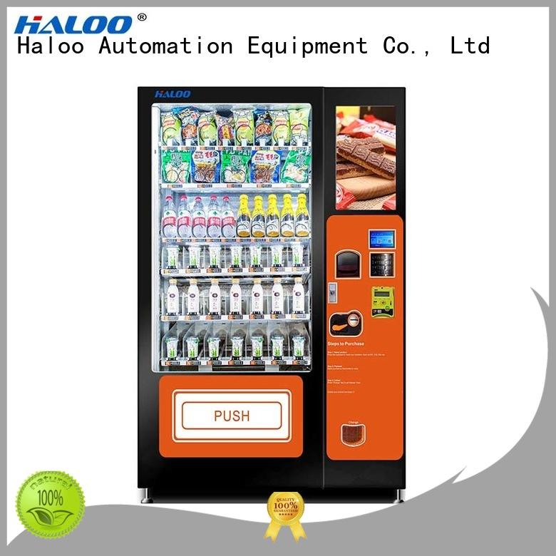 food vending machines for sale manufacturer for drinks Haloo