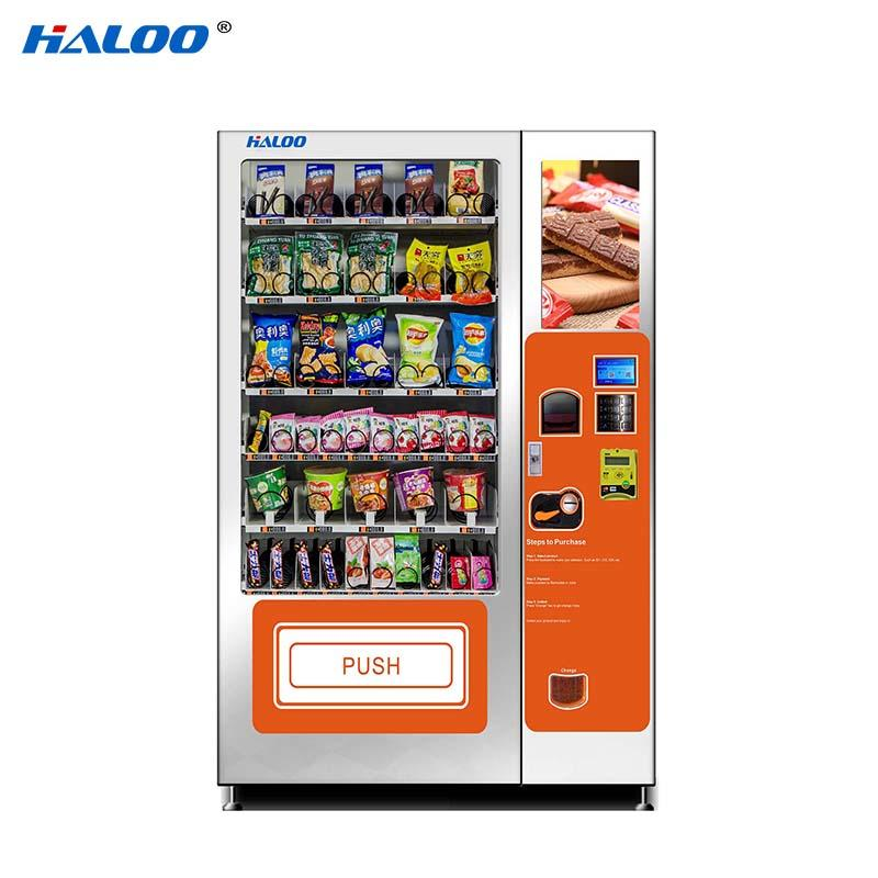 Haloo drink vending machine design for shopping mall-2