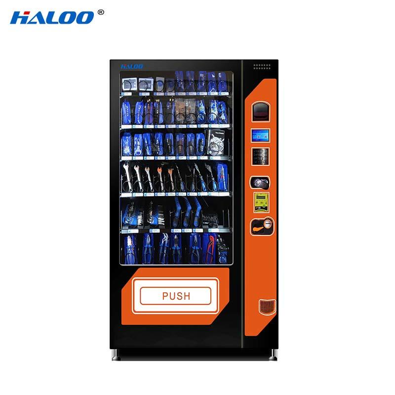 Haloo ads screen snack dispenser machine for snack-2