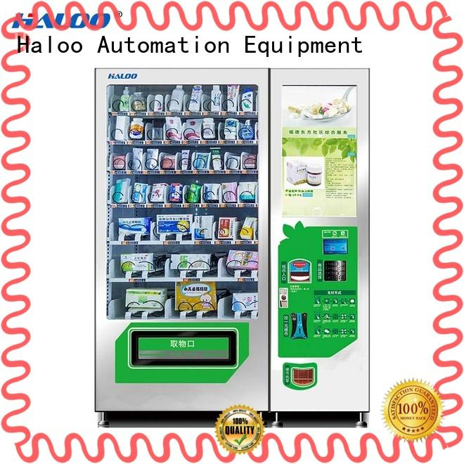 Haloo soda vending machine series for shopping mall