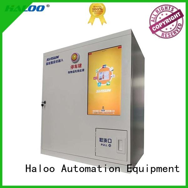 Haloo lucky box vending machine wholesale for garbage cycling