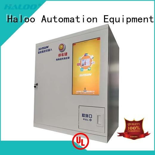 Haloo smart remote management recycling machines wholesale for purchase