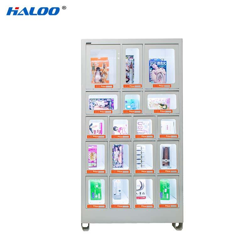 Haloo convenient food vending machines series for drinks-1