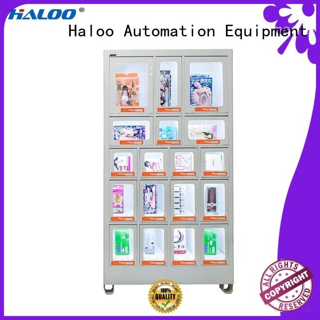 Haloo power-off protection healthy vending machine snacks series for snack