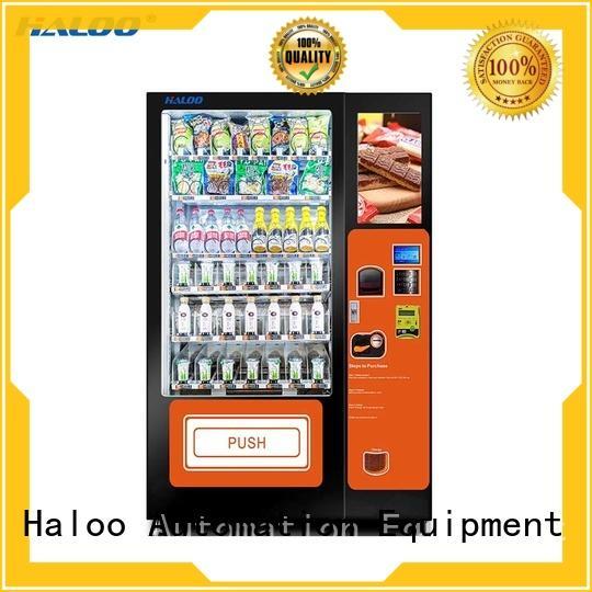 Haloo fruit vending machine factory for fragile goods