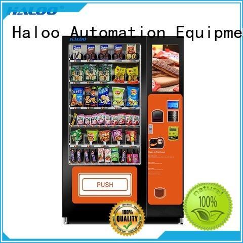 Haloo high capacity soda vending machine wholesale
