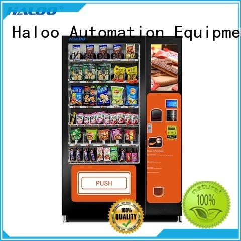 Haloo high capacity soda vending machine wholesale