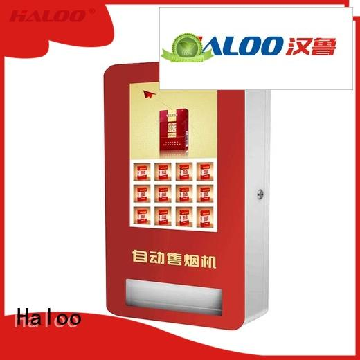 Haloo touch screen recycling vending machine for lucky box gift