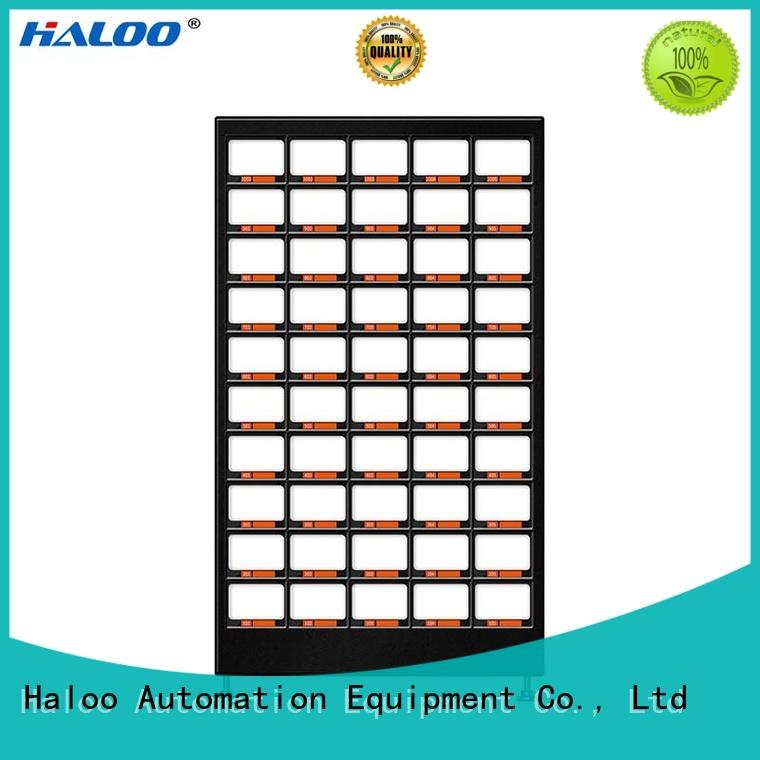 Haloo automatic fruit vending machine wholesale for fragile goods