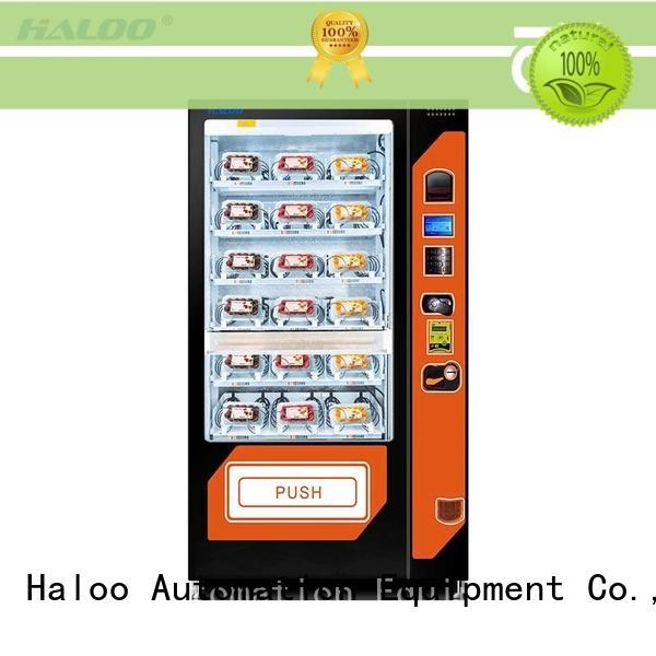 HL-SLE-10A  cooling fruit vegetable milk automatic vending machine
